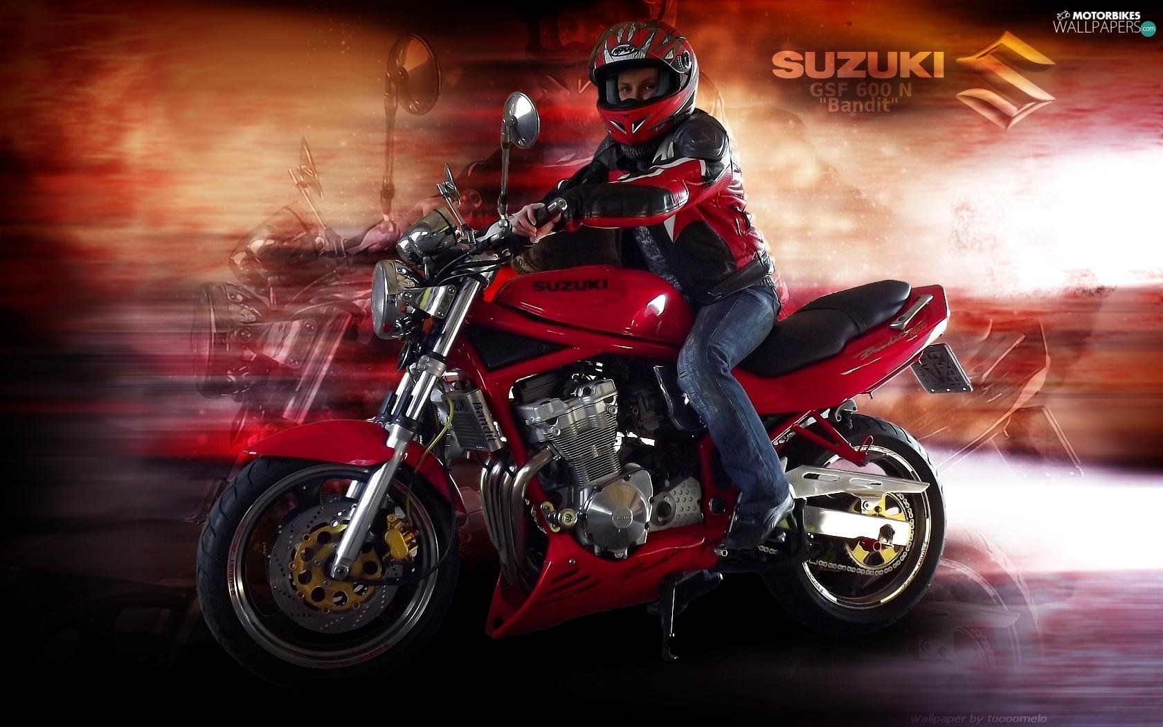 Suzuki GSF 600 N Bandit Motor Bike