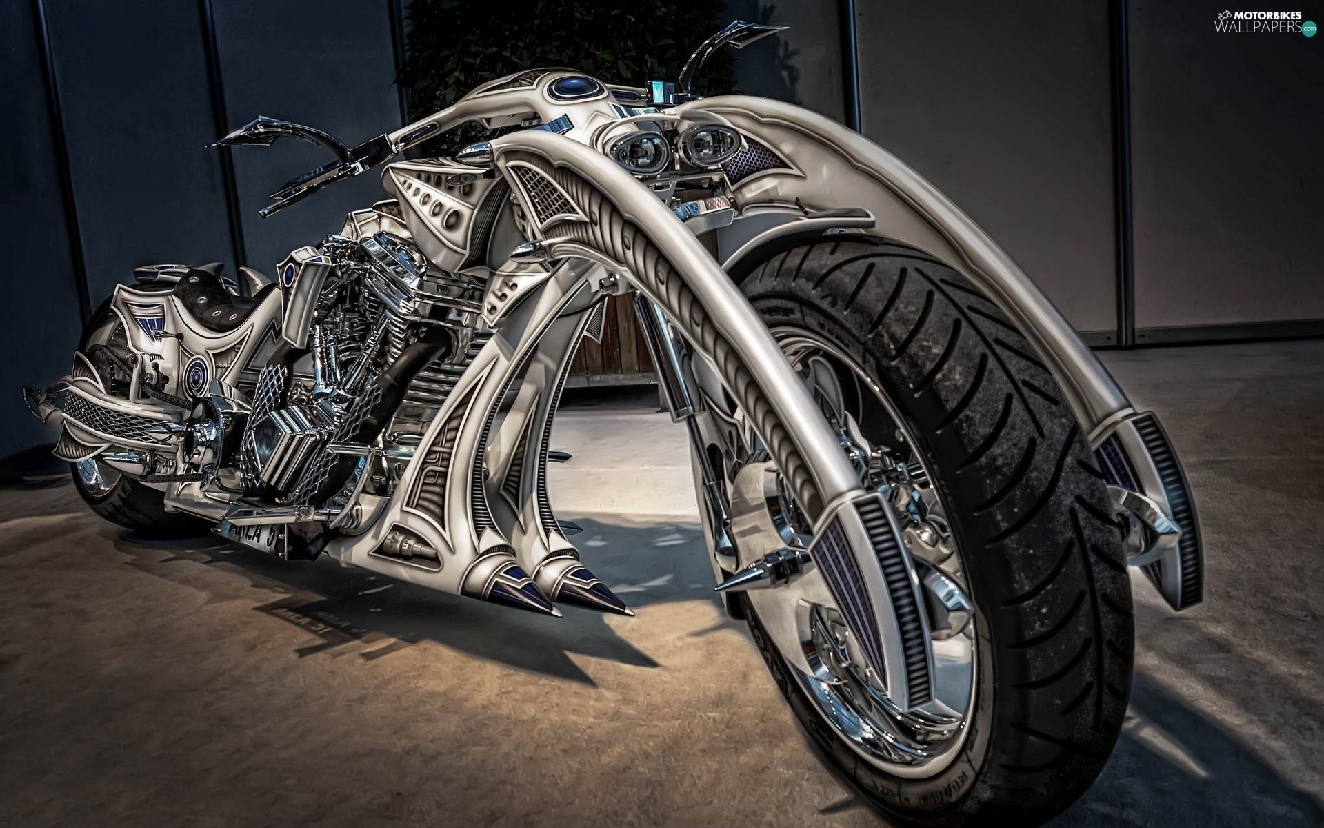 Custom Chopper Motorbikes Wallpapers 1920x1200