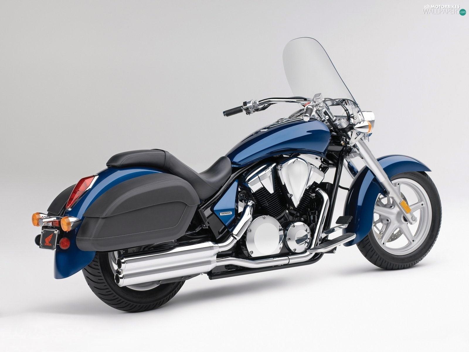 honda vtx 1300 ct interstate blue motorbikes wallpapers