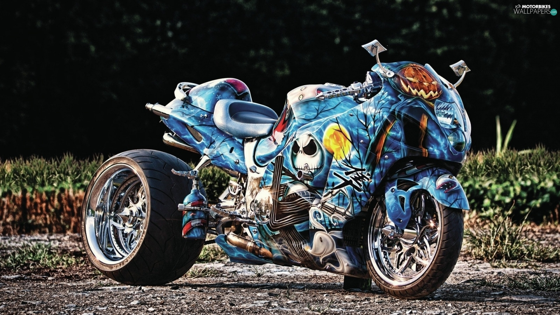 Becks Motorbike Painted Motor Bike Motorbikes