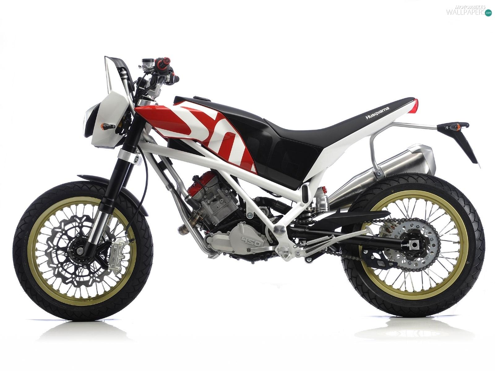 Husqvarna SMQ 450, Supermoto