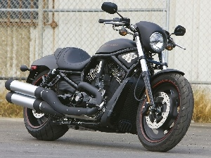 dope, Black, Cruiser, Harley-Davidson Night Rod