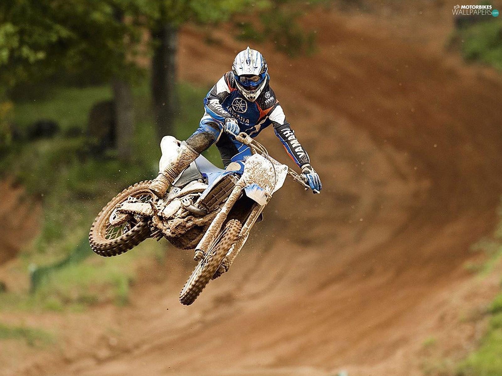Track, Yamaha WR450F, Mud - Motorbikes wallpapers: 1600x1200