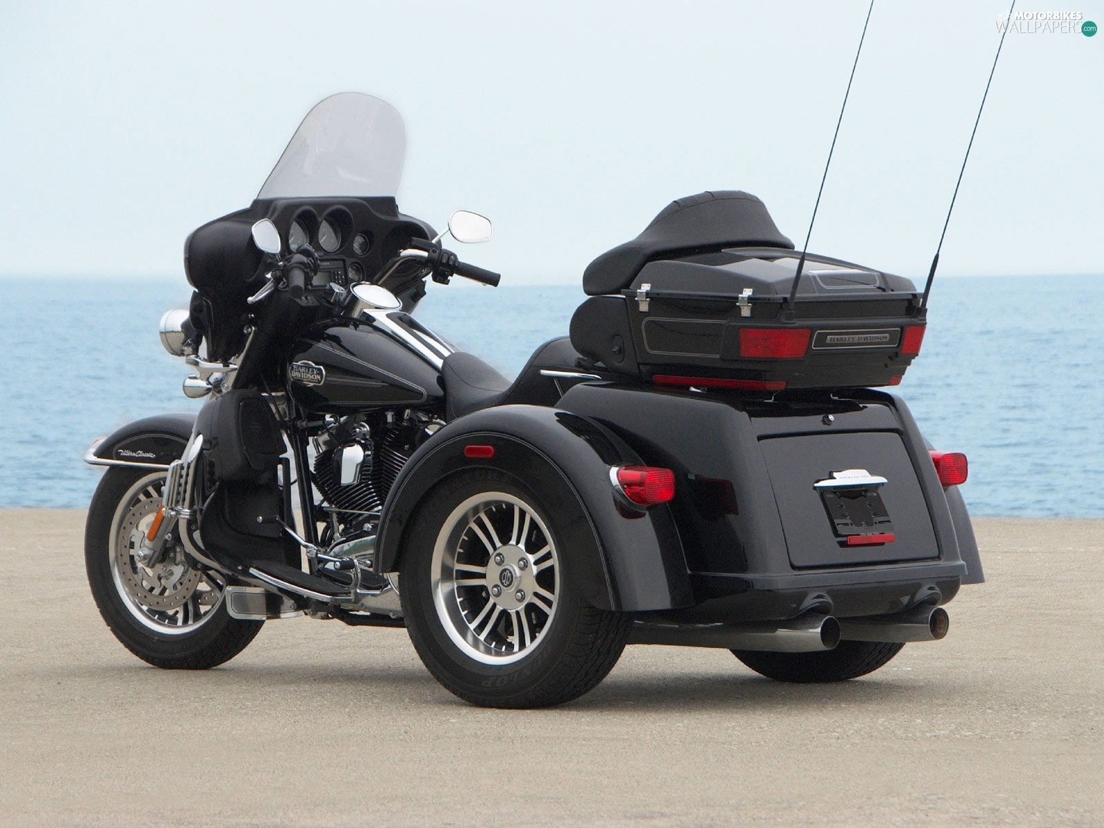 Harley Davidson Tri Glide Ultra Cl, Motor Tricycle