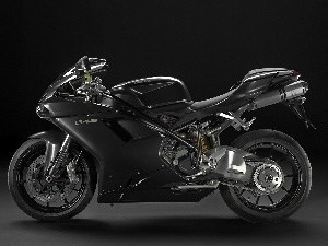 Black, Aluminium, Arm, Ducati 848