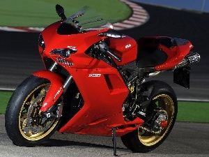 wheels, Ducati 1198, Golden