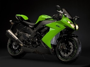 green ones, Kawasaki Ninja ZX-10R