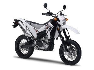 Yamaha WR 250X, tires, road