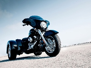 Harley Davidson Street Glide, tricycle
